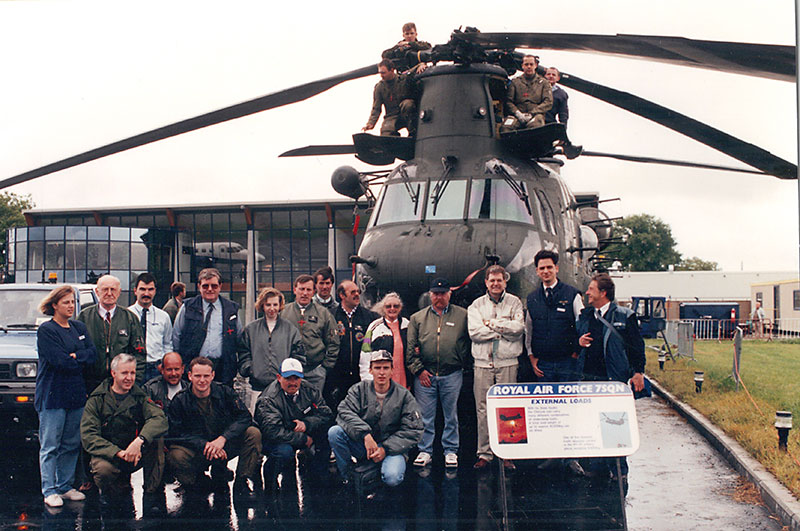 Number 7 Squadron, RAF 1995